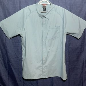 The NorthFace button down short sleeve shirt
